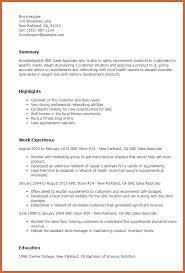 Sales Associate Sample Resume by Sample Resume In Sales Associate Dad Costs Ga