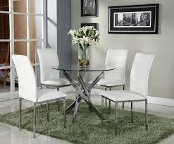 dining room circular dining table for 4 dark wood dining room