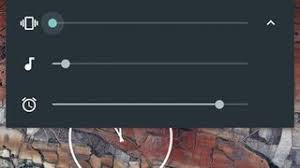 android volume how can i change media volume when no media is being played