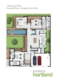 sobha hartland villa plans