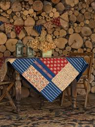Flea Market Flags Flea Market Patchwork Tablecloth Attic Sale Linens U0026 Kitchen