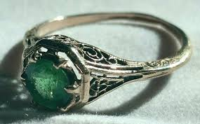 vintage emerald engagement rings vintage emerald engagement rings engagement ring unique engagement