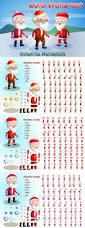 2d game santa character sprite sheets by craftpix net graphicriver