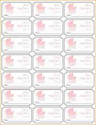 baby shower raffle 8 free printable baby shower raffle tickets template academic