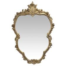 baroque wall mirror large color gold white nostalgia form baroque