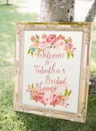 bridal shower signs blush bridal shower sign printable bridal shower welcome sign