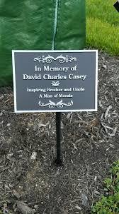 memorial garden plaques