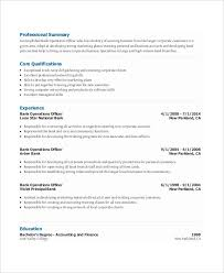 Networking Skills In Resume Free Banking Resumes 43 Free Word Pdf Documents Download