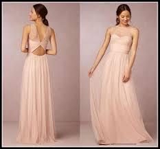 evening wedding bridesmaid dresses emmani blush pink bridesmaid dresses 2016 cheap crew neck tulle