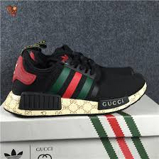 Jual Adidas Boost gucci nmd r1 primeknit with real boost size 36 46 white