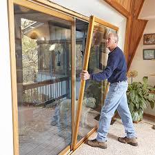Patio Door Seals Drafty Patio Door Weatherstripping Stops Drafts Cold Patio