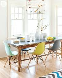 dining interior the colourful eclectic home of josh and caro from
