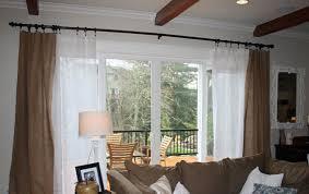 Curtains For Sliding Door Sliding Glass Door Curtains Ideas Window Treatments For Sliding