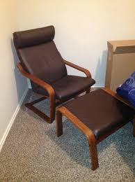 Ikea Poang Ottoman Ikea Leather Chair And Ottoman Home Design Ideas And Pictures