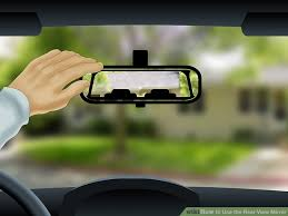 Blind Spot Mirror Where To Put How To Use The Rear View Mirror 10 Steps With Pictures