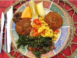 castle villa jamaica food