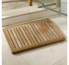 Teak Bath Mat The Luxury Of A Teak Shower Mat Teak Patio Furniture World