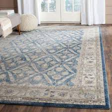 Synthetic Area Rugs 9 X 12 Blue Synthetic Area Rugs Rugs The Home Depot