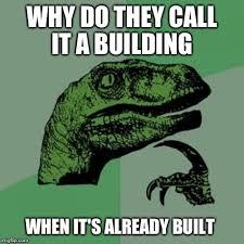 Building Memes - philosoraptor meme imgflip