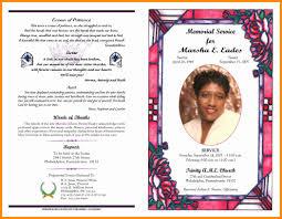 Samples Of Funeral Programs Funeral Programs Samples