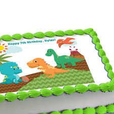 edible cake decorations dinosaur edible image cake decoration