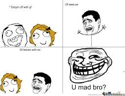 Mad Girlfriend Meme - u mad bro i took your gf by derpy fly meme center