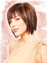 short layers all over hair medium haircuts with bangs for round faces cut with bangs