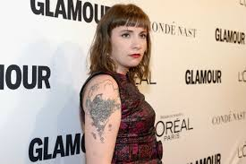 lena dunham gets an underboob tattoo celebuzz