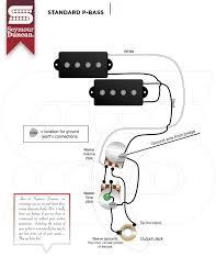 seymour duncan vs fender wiring p bass talkbass com