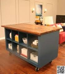 ikea hacks kitchen island a small but looking center island another ikea hack all