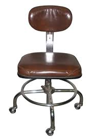 Rolling Bar Stool 1950s Rolling Office Chair Olde Good Things
