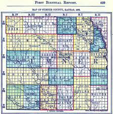Kansas Counties Map Corbin Kansas