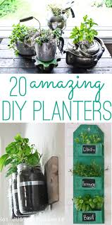 diy planters diy planters 20 amazing ideas you can make yourself