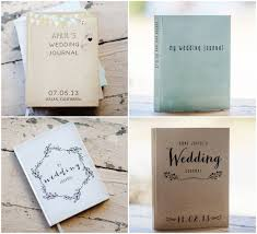wedding journal personalized wedding journal giveaway rustic wedding chic