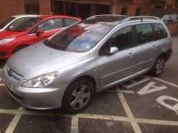 2 seater peugeot cars peugeot 307 sw 2004 7 seater in whitchurch bristol gumtree