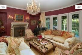 living room in mansion ozzy and sharon osbourne sell hidden hills mansion the osbournes