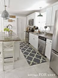Trellis Kitchen Rug New Runner In The Kitchen Rooms For Rent