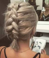 step by step braid short hair 50 trendy ways to braid short hair hair pinterest braid