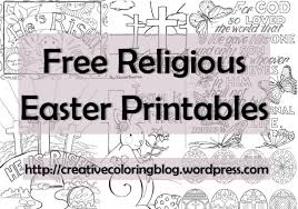 free religious easter printables creative coloring blog free