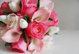 Wedding Flowers Pink Artificial Bridal Bouquets Wedding Flower Studio Wedding