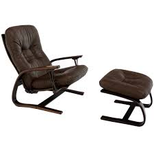furniture outstanding modern recliner chair with ottoman and