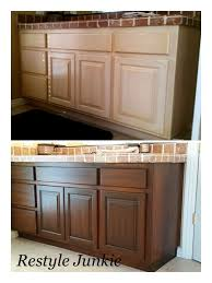 how to paint stained kitchen cabinets choosing the right gel stain java gel stain vs walnut