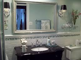 Traditional Bathroom Light Fixtures by Sconce Lighting In Master Bathroom Interiordesignew Com