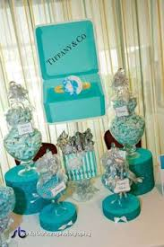 Tiffany Blue Candy Buffet by Tiffany U0027s Themed Wedding Candy Buffet Sweet Style Pinterest