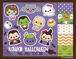50 off halloween clipart kawaii halloween clip art kawaii