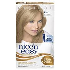 nicen easy color chart amazon com clairol nice n easy permanent hair color 9 103 natural