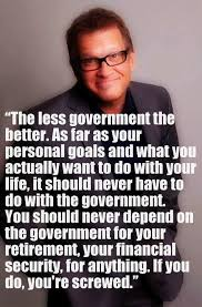 drew carey libertarian the less government the better i
