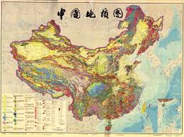 map of china geological map of china esdac european commission