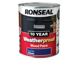 wood paint ronseal wpdes750 750 ml 10 year weatherproof exterior satin finish