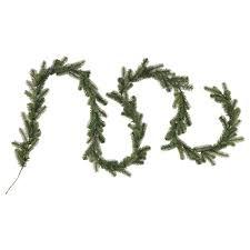 smycka artificial garland in outdoor spruce 3 5 m ikea
